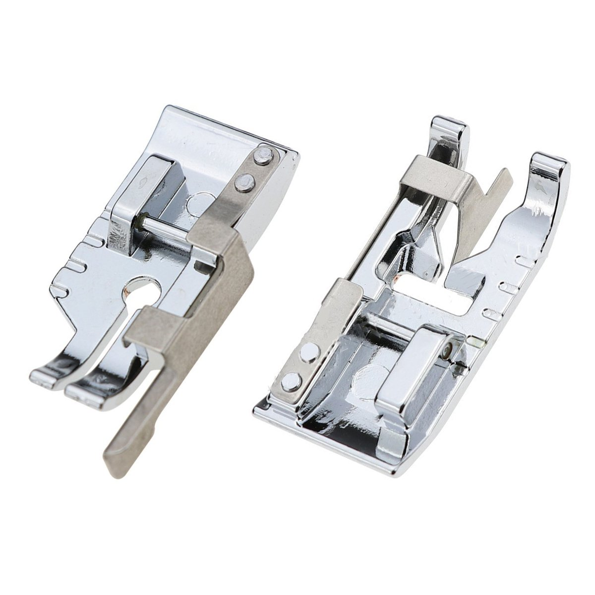 Pack of Stitch in Ditch Foot and 1/4''(Quarter Inch) Quilting Patchwork Sewing Machine Presser Foot with Edge Guide for All Low Shank Snap-On Singer, Brother, Babylock, Euro-Pro, Janome  Brother  Babylock  Euro-Pro  Janome