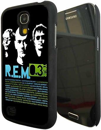 Samsung Galaxy S4 Mini Carcasa Case Cover, antideslizante, R.E.M banda Logo Satisfacción funda, printed banda Logo Funda para Samsung Galaxy S4 Mini: Amazon.es: Electrónica