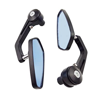 3D-Rear view Bicycle Handle Bar Mirror U.Z BIKE Sporting Goods Mirrors