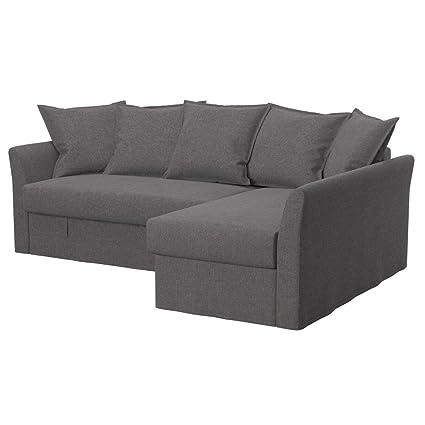 Soferia Ikea Holmsund Fodera Per Divano Letto Angolare Glam Grey