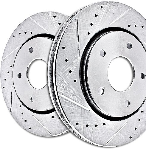 Power Stop (JBR1568/1569XPR) Evolution Performance Drilled & Slotted Rotors