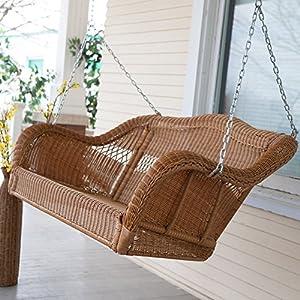 618uaK%2BJVyL._SS300_ 50+ Wicker Swings and Wicker Porch Swings