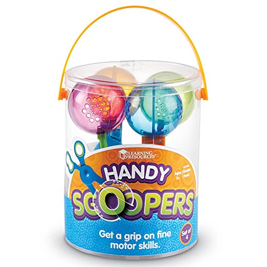 Amazon.com : Learning Resources Handy Scoopers : Toys For Fine ...