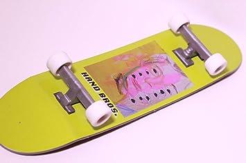 Amazon.com: HANDBROS Tabla de skate de mano de 10.6 in 10,5 ...