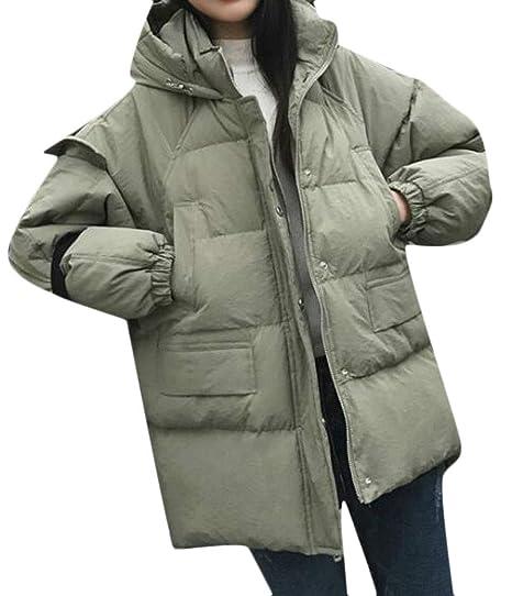 a33b961201715 Amazon.com  Cromoncent Womens Plus Size Hooded Drop Shoulder Sleeve Hi-Low  Hem WinterParka Jacket  Clothing