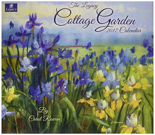 Legacy Publishing Group 2017 Wall Calendar, Cottage Garden