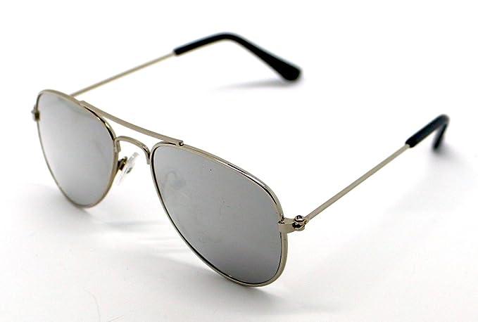 Gafas de Sol Niño Infantil Aviador Espejo Sunglasses ...