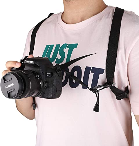 Binoculars Harness Strap, Hunting Accessories Camera Strap, Great for Binoculars, Cameras and Rangefinders GJB282