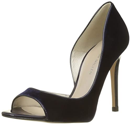 Millen De Peep Karen Toe Limited Fashions PumpsZapatos Velvet 6b7yfYg