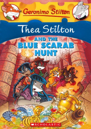 Thea Stilton And The Blue Scarab Hunt (Turtleback School & Library Binding Edition) (Geronimo Stilton)