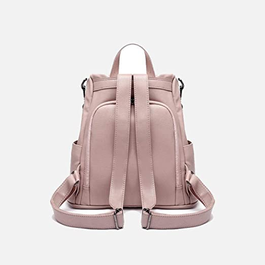 Chenjinxiang01 Backpack for Women Fashion Casual Soft Leather Backpack Wallet Size : Large Sizes