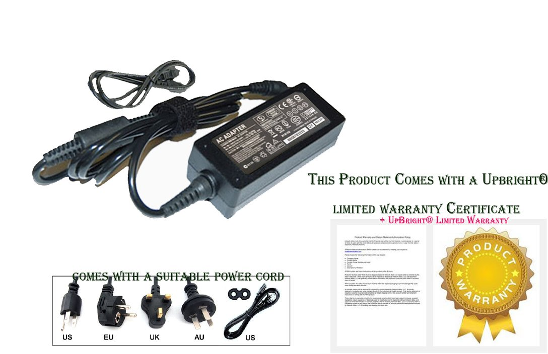 UpBright NEW AC/DC Adapter For DigiMedia LT-070S TV LCD Monitor Power Supply Cord Cable Charger Mains PSU