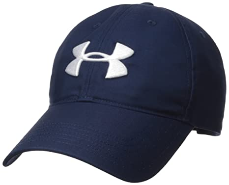online store 14bc6 37230 Under Armour Men s Golf Chino 2.0 Cap, Academy (408) White, One