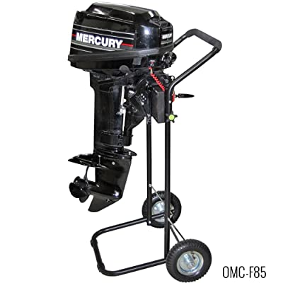 steel outboard engine stand with Folding Handle detail review