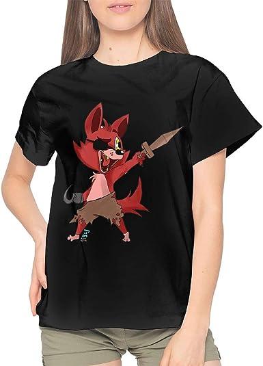Foxy It s Me Camiseta Negra para Mujer Camiseta de Manga ...