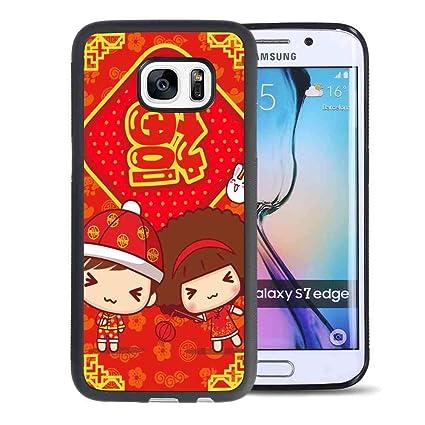Amazon.com: Carcasa para Samsung Galaxy S7 Edge #fvm: eytef