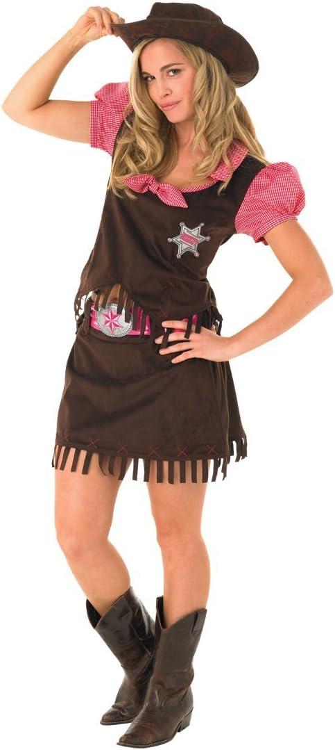 Rubies 889507L - Disfraz de vaquera para niña, talla L: Amazon.es ...