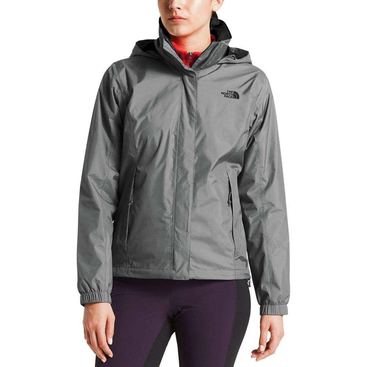 (ザノースフェイス) The North Face Resolve 2 Hooded Jacket レディース ジャケットTin Grey [並行輸入品]   B07KWW1NTR