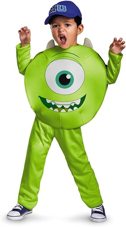 Amazon Com Disney Pixar Monsters University Mike Toddler Classic Costume 2t Toys Games