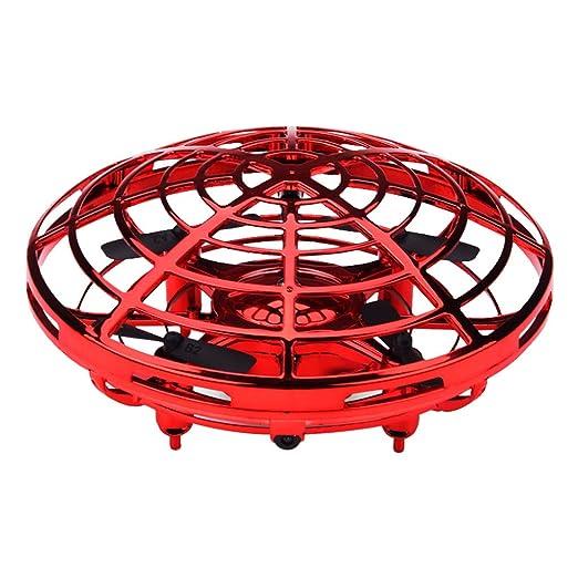 Vivianu Mini Drone con sensor UFO en forma de inducción, cuatro ...