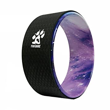 Yogi-bare yoga rueda - Flexibilidad ayuda para yoga práctica (Cosmica / Nergo)