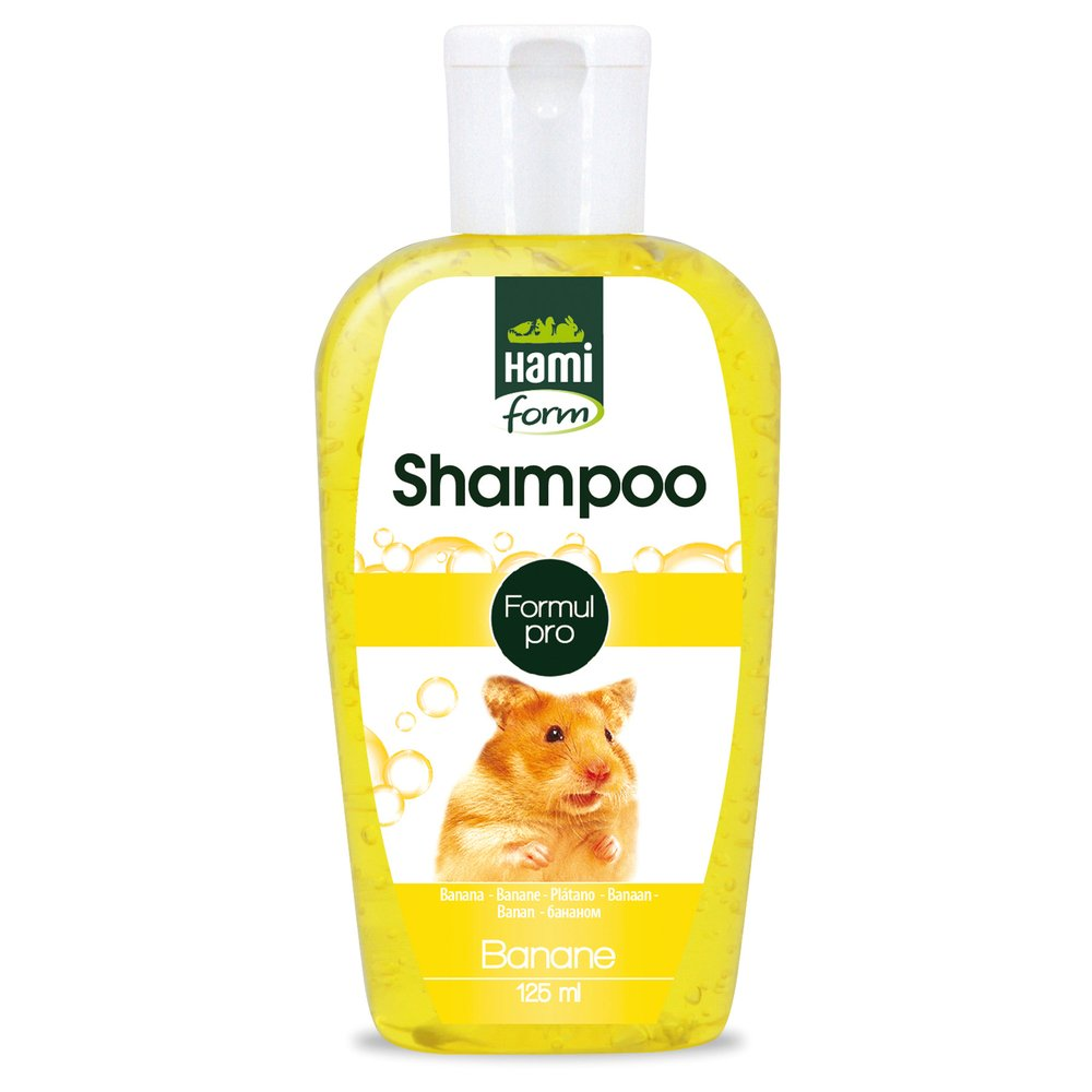 Shampoing pour Hamster, Parfum banane, 125ml - HAMIFORM Pets-PTD-3299