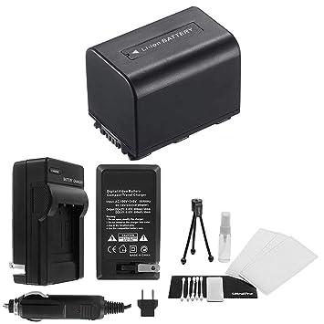 Amazon.com: NP-FH60 – Batería de repuesto de alta capacidad ...