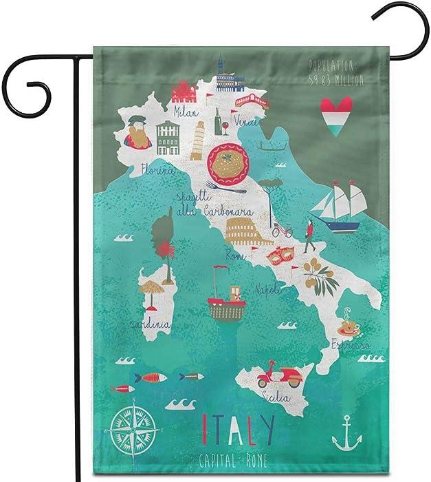 Top 9 Italian Food Banner