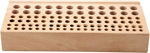Durable 100 Holes Storage Rack Leather Craft Tool Styling Tools Brushes Holder