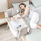 Kidsclub 2-in-1 Height Adjustable Infant Bedside