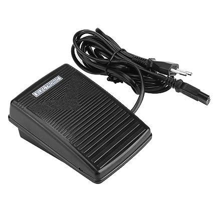 Akozon Pedal Eléctrico para Máquinas de Coser,200-240V 0.5A (EU)