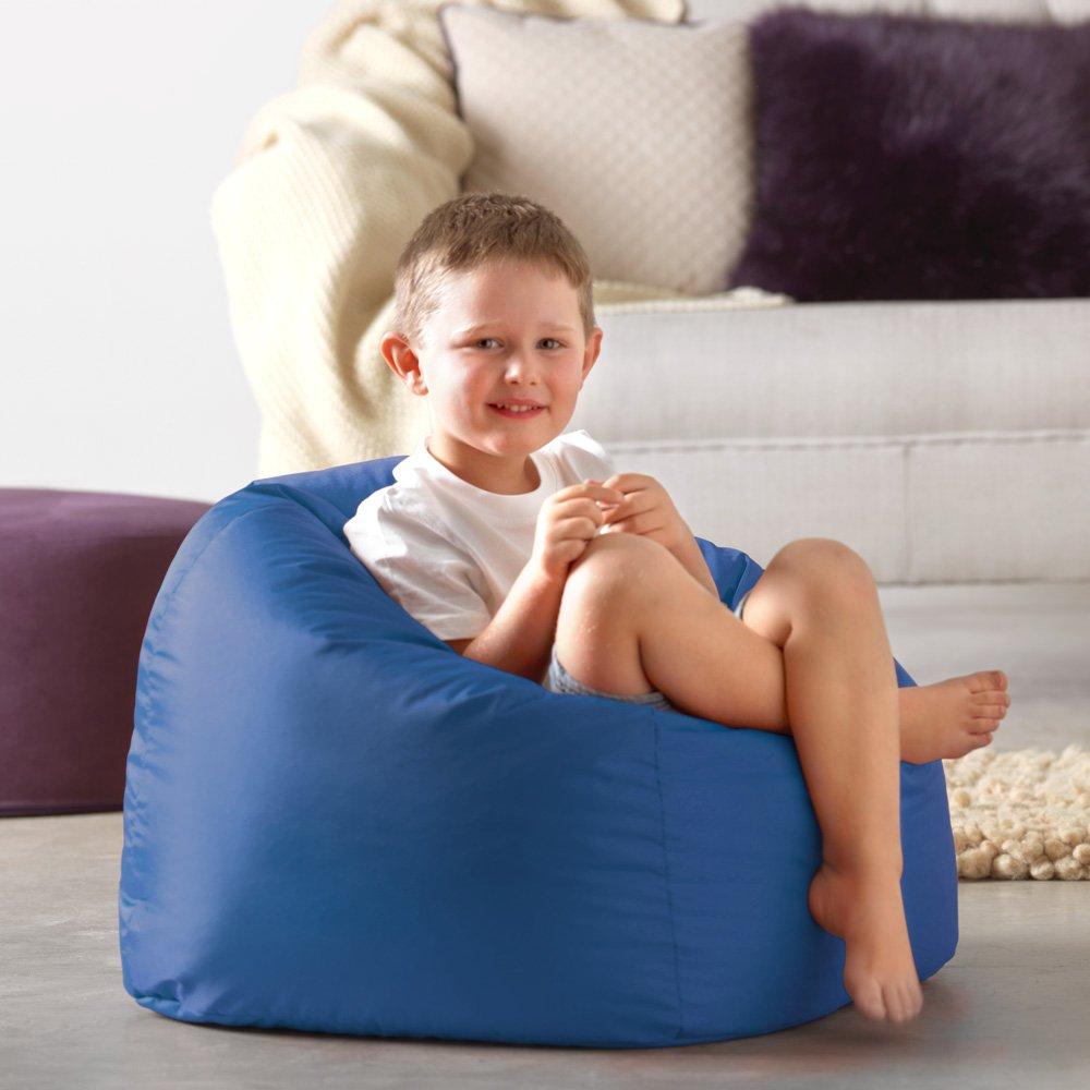 HH Home Hut Kids Bean Bag Chair Gaming Chair Beanbag Indoor /& Outdoor Garden Big Arm Chair Blue