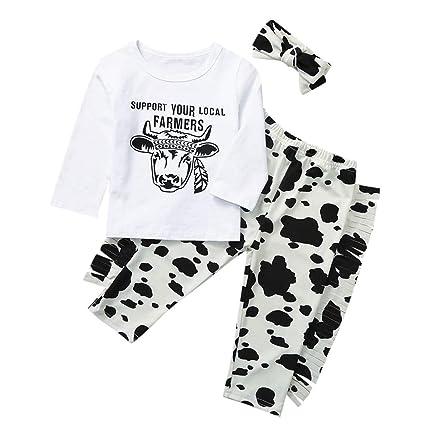 3PCS Newborn Baby Girls Letter T shirt+Shorts Pants Headband Outfits Clothes Set