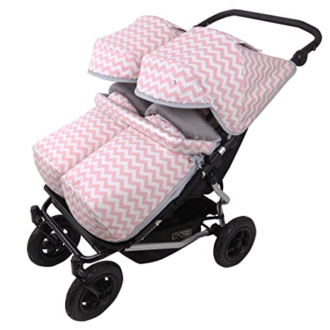 Saco Invierno y 2ud. Capota Mountain Buggy Duet INDI RS. Polar