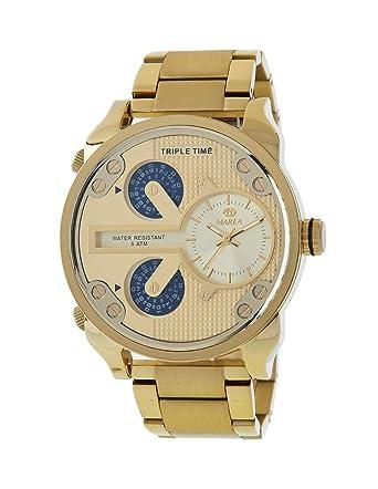 502cdbe02b60 Reloj Marea Hombre B54150 2 Triple Hora  Amazon.es  Relojes
