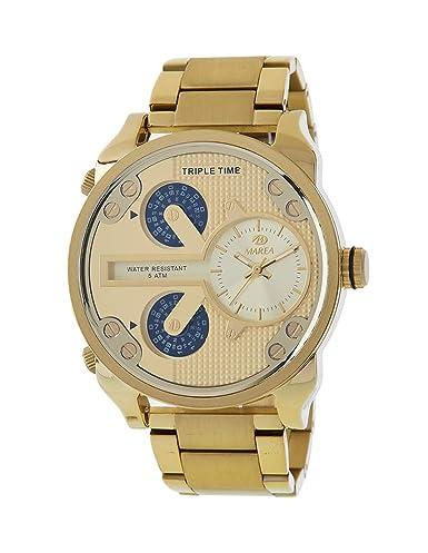 d00c8de8163 Reloj Marea Hombre B54150 2 Triple Hora  Amazon.es  Relojes