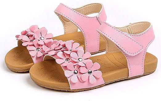 Nevera Sandals,Toddler Kids Baby Girls Summer Flower Light Led Luminous Sandals Shoes