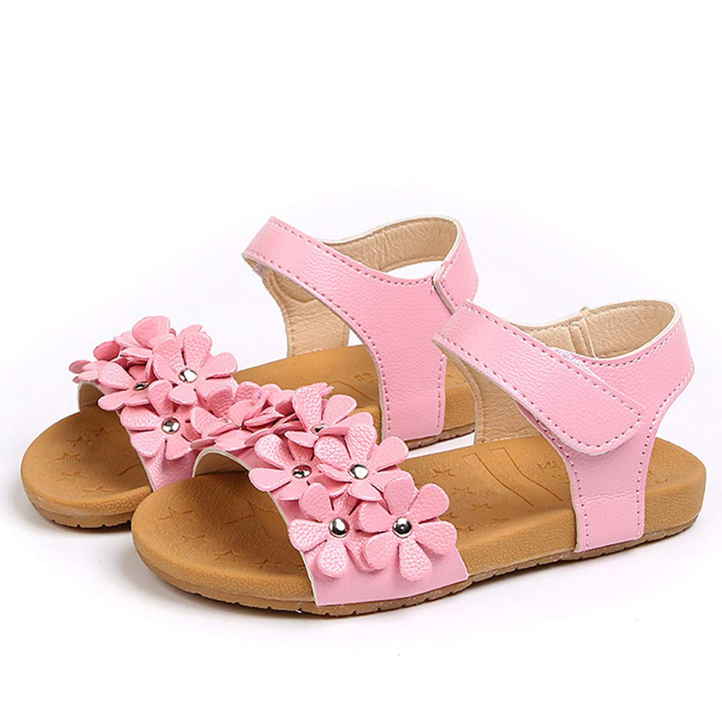 6a5d96bea84b1 Amazon.com: Toponly Infant Baby Girls Sandals Summer Shoes Soft Sole ...