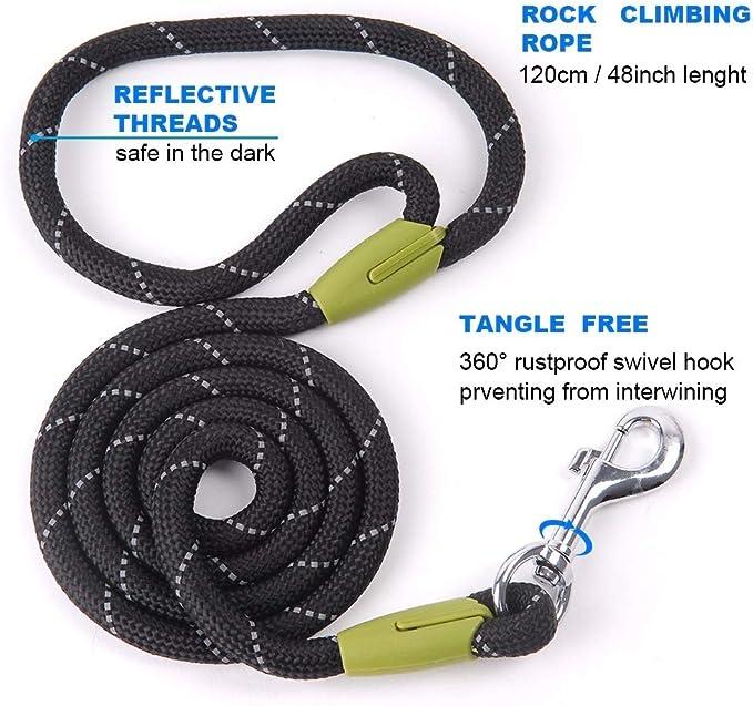 DTSQSS Cuerda De Tracción For Mascotas Suministros For ...