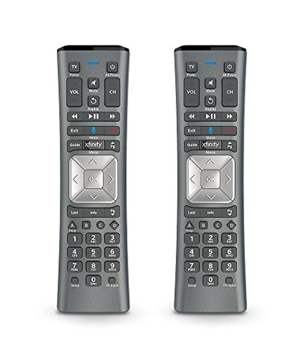 Amazon.com: Set of TWO XFINITY Comcast XR11 Voice Activated Backlit Remote  Control: Home Audio & Theater