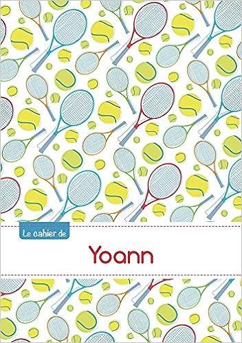 Livre gratuits CAHIER YOANN BLANC,96P,A5 TENNIS pdf