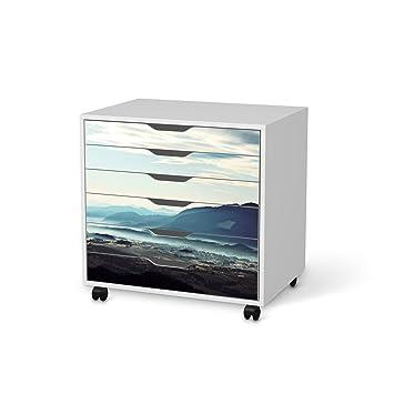 Dekofolie für IKEA Alex Schreibtisch-Rollcontainer 6 Schubladen |  Möbeldekor Klebefolie Sticker Tapete Möbel folieren | Modernes Wohnen ...