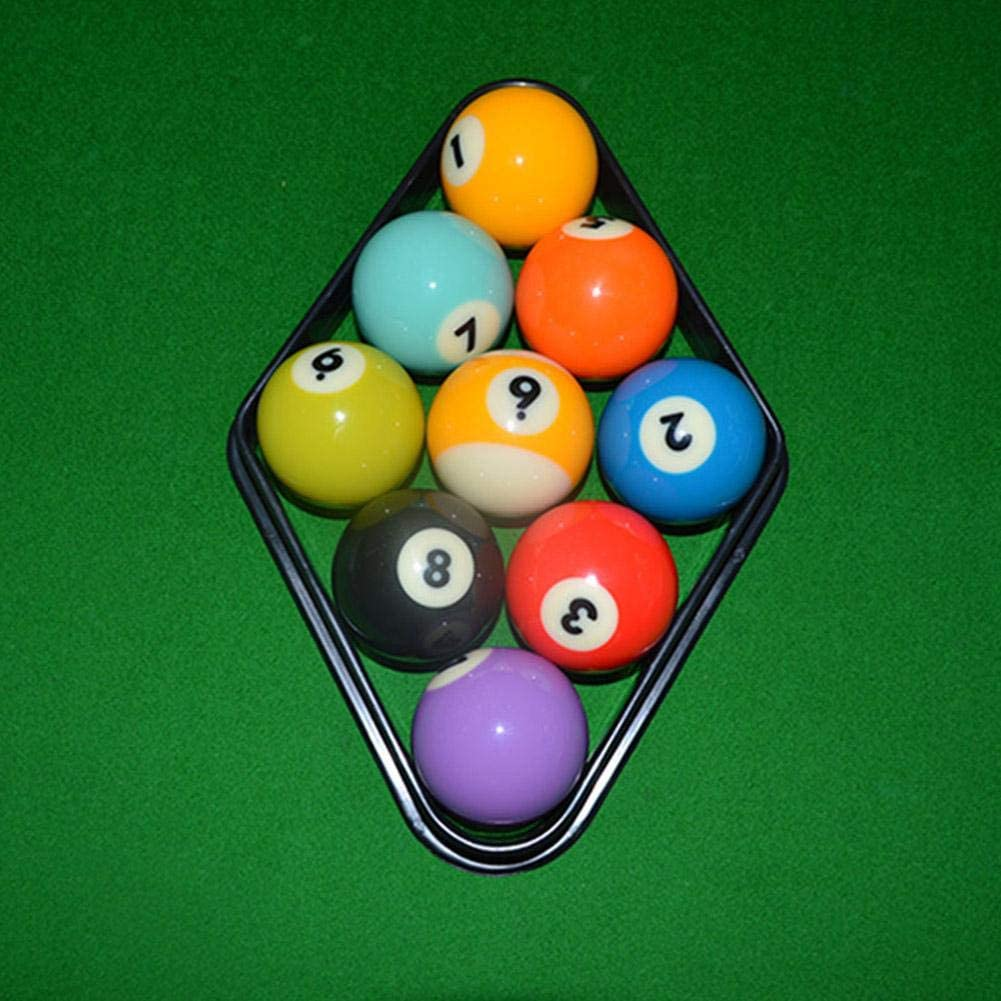 Alomejor 2PCS Billar Rack Plastic Pool Ball Rack Snooker Diamond Ball Frame 9 Ball Billar Bola Caja Accesorios: Amazon.es: Deportes y aire libre