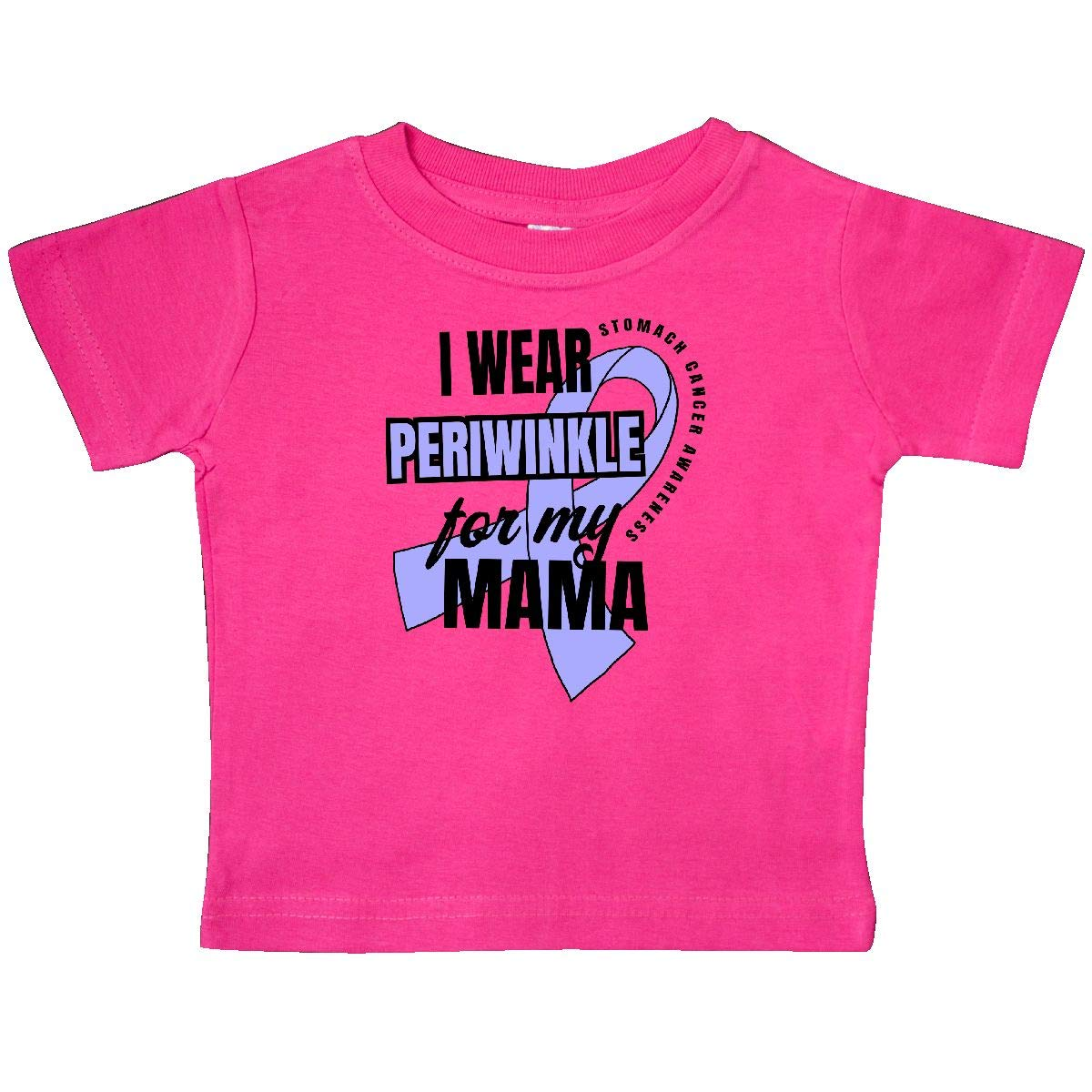 inktastic I Wear Periwinkle for My Mama Stomach Cancer Awareness Baby T-Shirt