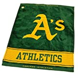 MLB Oakland Athletics Jacquard Woven Golf Towel