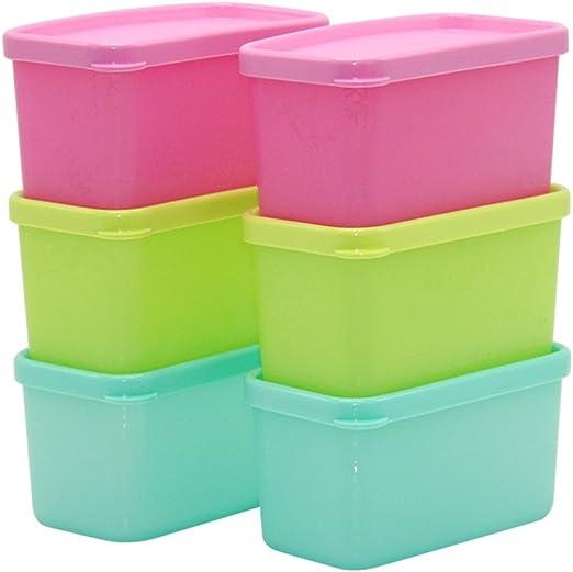 Para frutas y verduras Caja de plástico rectangular refrigerador ...
