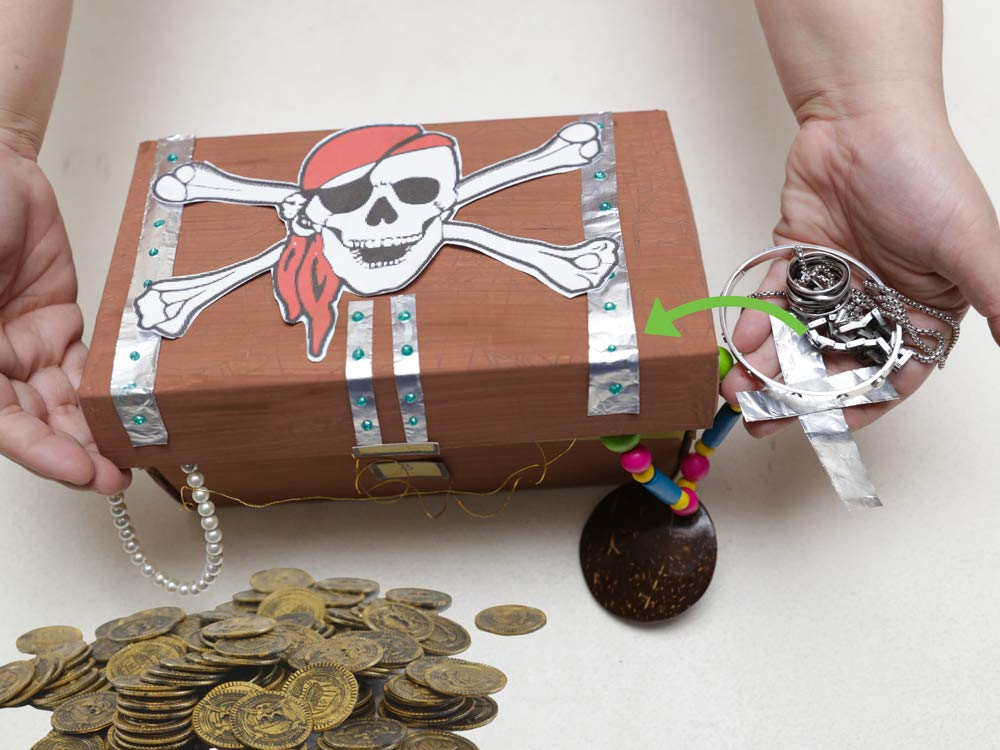Great Party Favors Fun Toy Piñat Kayco USA Pirate Doubloons