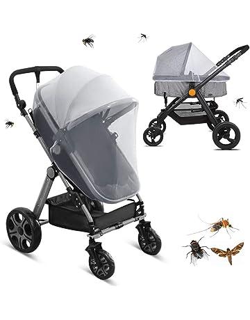 zanasta Universal M/ückennetz//Insektenschutz f/ür Kinderwagen Babyjogger und Reisebett Buggy wei/ß Feinmaschiges Netz Rei/ßfest /& Waschbar