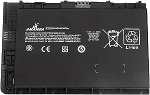 Amanda BT04XL Battery 14.8V 52Wh Replacement for HP EliteBook Folio 9470 9470M Series HSTNN-IB3Z HSTNN-I10C HSTNN-DB3Z BT04 BA06 687517-1C1 687945-001 687517-171