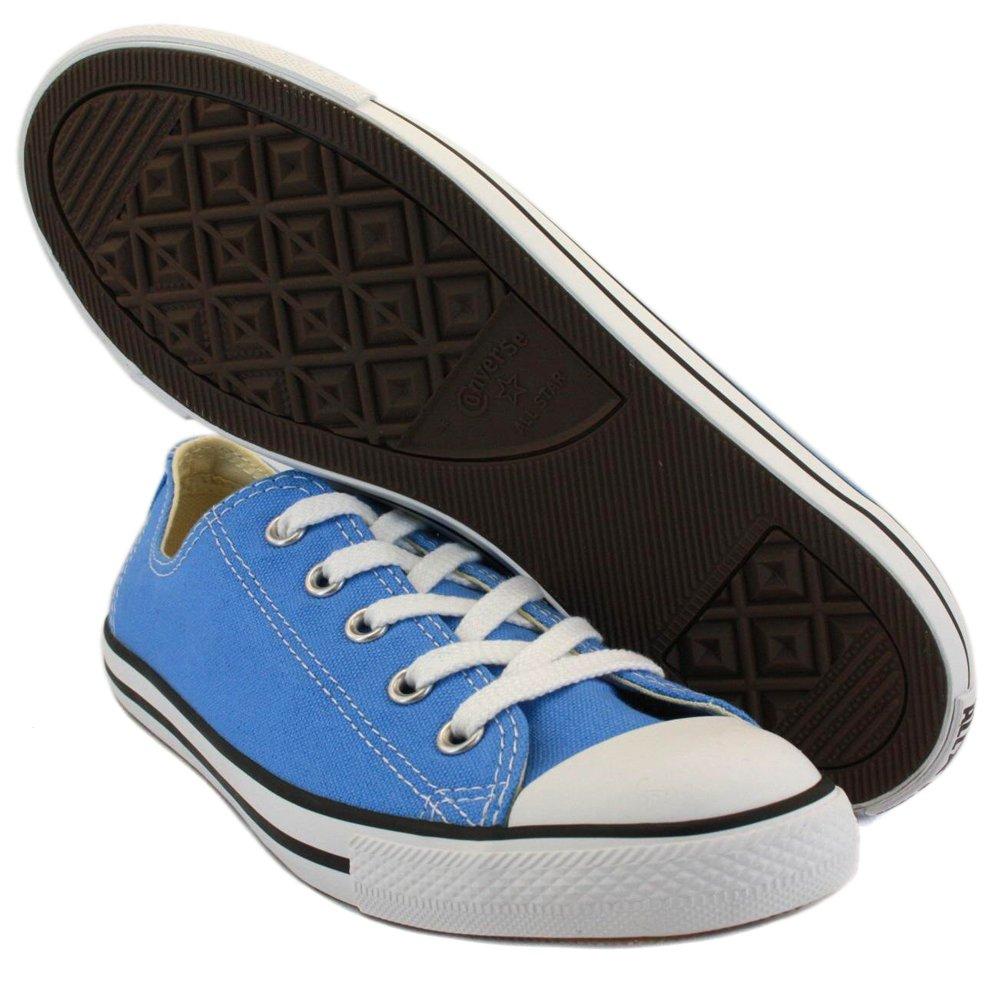 275e434f69cc Converse Chuck Taylor Dainty Ox 537077C Unisex Canvas Laced Trainers Blue -  8  Amazon.co.uk  Shoes   Bags